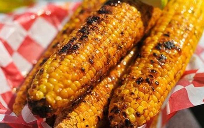 запечённая кукуруза гриль