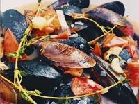 Мидии рецепт в белом вине Moules marinière