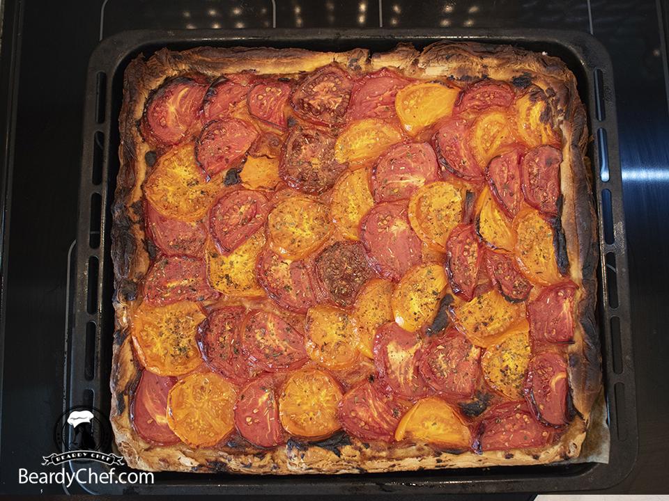французский пирог с томатами