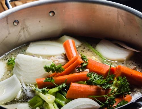 Базовый овощной бульон
