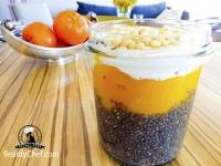 Семена Чиа с манго и мандарином