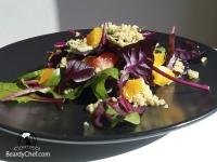 весенний салат с киноа