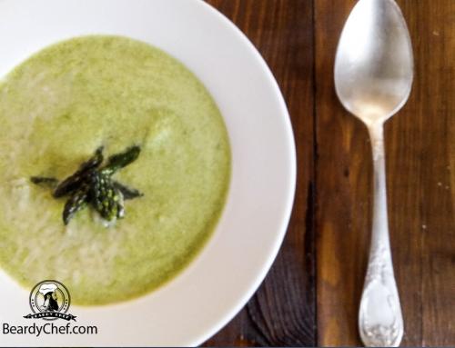 Суп из спаржи. Рецепт с видео